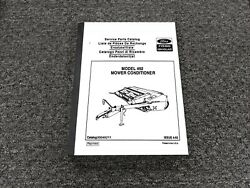 Ford New Holland 492 Haybine Mower Conditioner Parts Catalog Manual 05049211