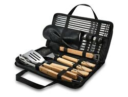 Bbq Utensils Tools Set 23 Pcs Grill Accessories Set With Case Outdoor Barbecue
