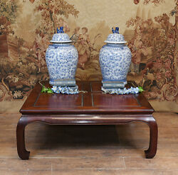 Antique Chinese Coffee Table Hardwood 1930
