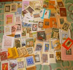 70 Nip Pattern Packs Quilts Primitive Stuffed Toys Holiday Decor Purse/bags More