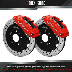 Wilwood Slotted Rotor Forged Superlite Internal Caliper F Brake For 90-98 240sx