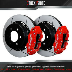Wilwood Slotted Rotor Fnsl4r Caliper R Brake For Oe Parking Brakes For 12 F-150