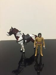 Vintage New Old Stock Gabriel The Legend Of The Lone Ranger Tonto And Scout Figure