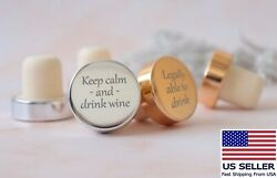 Personalized Wine Bottle Stopper Wedding Favors For Guest In Bulk House Warming