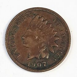 1907 Indian Cent - High Quality Scans C799