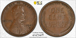 1909 S Vdb 1c Lincoln Wheat Cent Pcgs Vf 35 Very Fine To Extra Fine Key Date