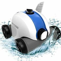 Paxcess Cordless Automatic Pool Cleaner Robotic Pool Cleaner With 5000mah Rec...
