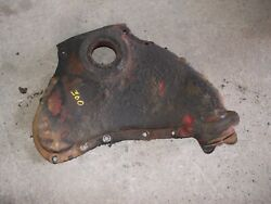 Farmall 300 Rc Ih Tractor Engine Motor Front Cover W// Oil Fill Cap