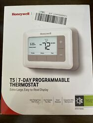 Honeywell Rth7560e White Home 7 Day Scheduling Smart T5 Programmable Thermostat