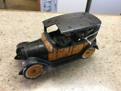 Vintage Arcade Cast Iron 9 Taxi Cab Toy Vehicle As Is Gc1