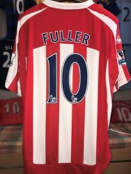 Ricardo Fuller 2008/09 Stoke City Home Jersey Shirt W/patches Size Xl