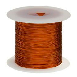 16 Awg Gauge Enameled Copper Magnet Wire 1.0 Lbs 126and039 Length 0.0545 240c Nat