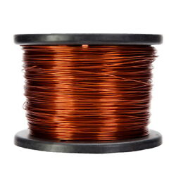 16 Awg Gauge Enameled Copper Magnet Wire 5.0 Lbs 628and039 Length 0.0545 240c Nat