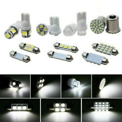 28 Pcs Auto Car Interior Led Light Bulbs For Dome License Plate Mixed Lamp Set