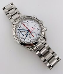 Omega Speedmaster Date Automatic 39mm White Dial Steel Olympic 3513.20