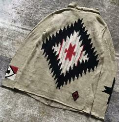 Exceptional Navajo Pattern Black Label Native Knit Gown