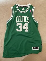 Adidas Authentic Paul Pierce Jersey Youth Xl Great Condition