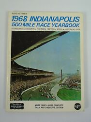 1968 Indianapolis 500 Floyd Clymer's Yearbook History Bobby Unser Eagle Offy