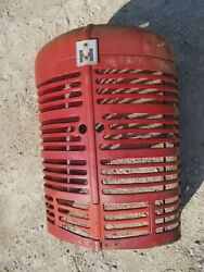 Farmall Early Sm Ih Tractor Orgnal Nose Cone Grill W/ Screen And Emblem And Insert