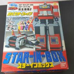 Earth Squadron Five Man Dx Star In Box Bandai Superalloy