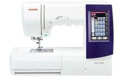 Janome Memory Craft 9850 Sewing And Embroidery Machine + Warranty