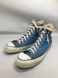Secondhand Converse 70s/chuck Taylor Star High Cut Sneakers Us11 Blu Canvas