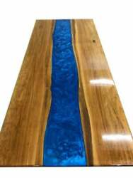 60 X 32 Epoxy Resin Table Top Handmade Home Office Furniture Decor