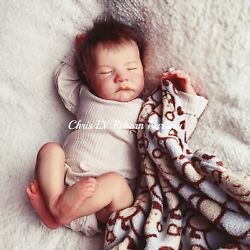 Reborn Baby Doll Levi By Bonnie Brown Made By Chris Ly. 19 Inches.