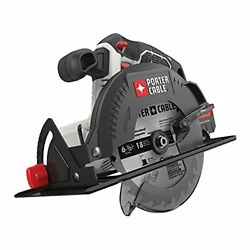 Porter-cable 20v Max 6-1/2-inch Cordless Circular Saw, Tool Only Pcc660b