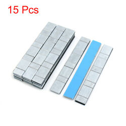 2.1oz Adhesive Back Wheel Balance Weights Strips For Motorcycle 134 X 18mm 15pcs