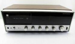 Vintage Panasonic Re-8080 Am / Fm 8 Track Player Stereo Receiver Working Nice
