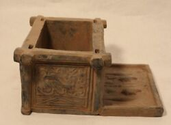 Chinese Pottery Han Style Well Head Model With Zodiac Animals