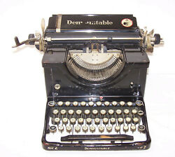 Demountable Typewriter 1926 Serial 130977 Must See Fond Du Lac Wi Unique