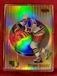 Gretzky Refractor And Serial Numbered 24/400 Rarer Than Rare 98 Bowmans Best 3