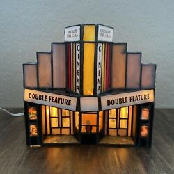 Hershey's Chocolate Town Usa Stained Glass Limited Ed 0008 Cinema 1996
