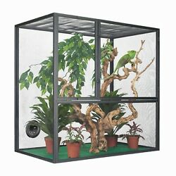 Zilla Reptile Lizard Cage Enclosure for Bearded Dragon and Butterfly Habitat