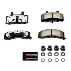Z36-370 Powerstop Brake Pad Sets 2-wheel Set Front New For Chevy Suburban Dodge
