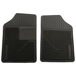 51051 Husky Liners Floor Mats Front New Black For Olds Ninety Eight Truck Coupe