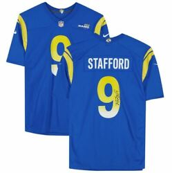 Matthew Stafford Los Angeles Rams Signed Royal Blue Nike Game Jersey