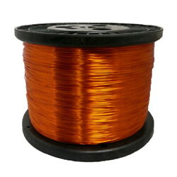 32 Awg Gauge Enameled Copper Magnet Wire 5.0 Lbs 24440and039 Length 0.0097 240c Nat