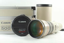 【exc+6 In Trunk Case】 Canon Ef 500mm F4.5 L Usm Ultrasonic Lens From Japan 785