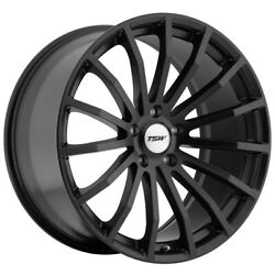 Staggered Tsw Mallory Front 19x8, Rear 19x9.5 5x120 Matte Black Wheels Rims