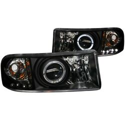 111196 Anzo Headlight Lamp Driver And Passenger Side New For Ram Truck Lh Rh 1500