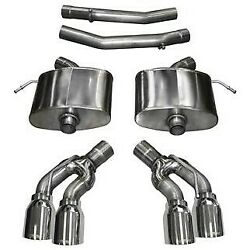 14358 Corsa Exhaust System New Sedan For Cadillac Cts 2016-2019