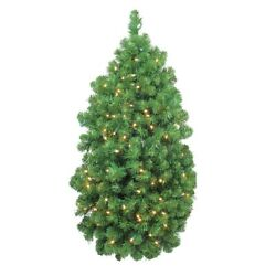 Northlight 32635068 36 In. Led Pre-lit Artificial Christmas Column Pine Swag - C