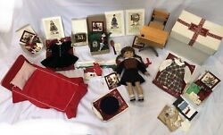 American Girl Doll Molly Pleasant Co. Large Lot, Outfits, Accessories And More