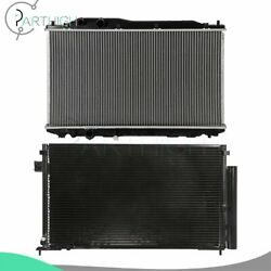 For 2006-2011 Honda Civic Car Rdiator And A/c Condenser Cooling Kit