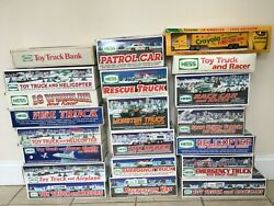 20 Hess Trucks 1990-2010 1 Crayola Truck All Mint Unopened Boxed