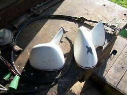 1978-1988 G Body Sport Mirrors Bullet Driver Remote Painted Manual Passenger