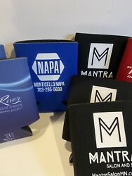 10 Cooler Koozie Lot Beer Coozies Great River Mantra Edina Realty - Used